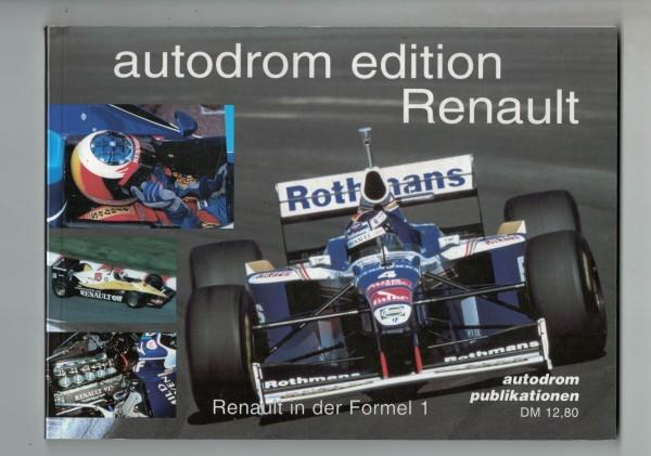 autodrom edition Renault - Motorsport-Porträt Nr. 1