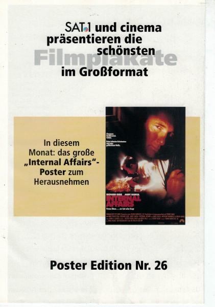 Cinema Poster Edition Nr. 26 - Internal Affairs