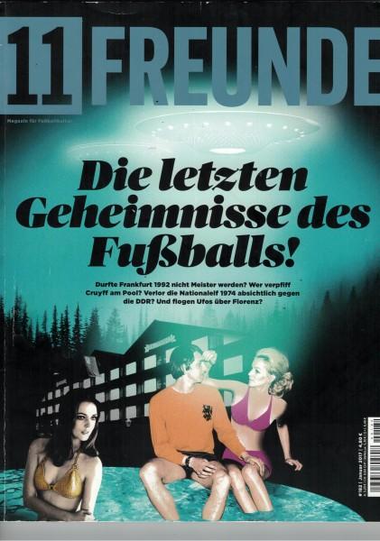 11 Freunde - Heft Nr. 182 - 01 Januar 2017