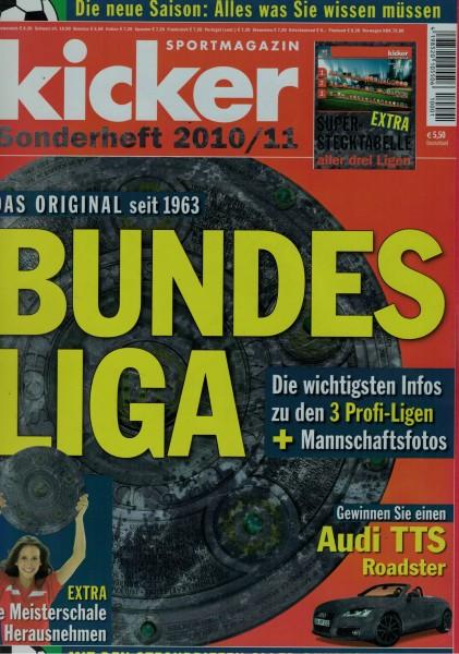 Kicker Sonderheft Bundesliga 2010/11