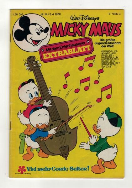 Micky Maus 1976 Nr. 14 / 03.04.1976