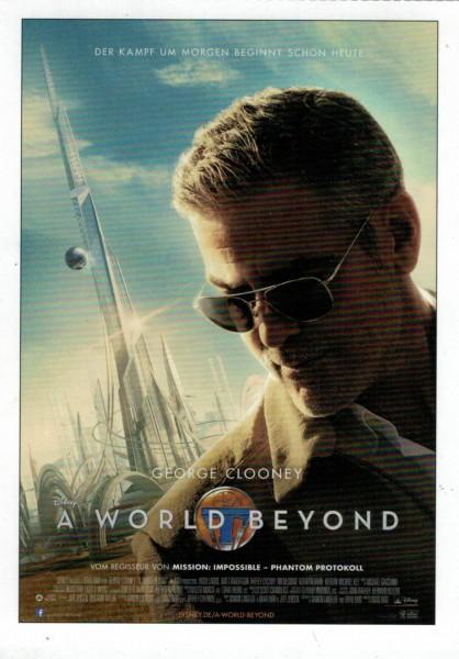 """Cinema Filmkarte """"A World Beyond"""""""