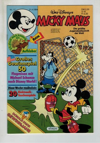 Micky Maus 1984 Nr. 17 / 21.04.1984