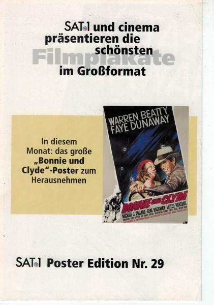 Cinema Poster Edition Nr. 29 - Bonnie und Clyde