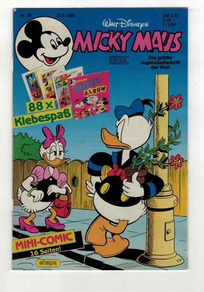 Micky Maus 1988 Nr. 39 / 22.09.1988
