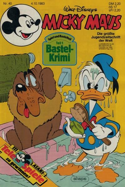 Micky Maus 1983 Nr. 40 / 04.10.1983