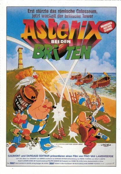 """Cinema Filmkarte """"Asterix bei den Briten"""""""