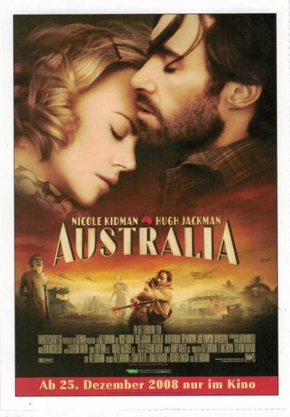 """Cinema Filmkarte """"Australia"""""""
