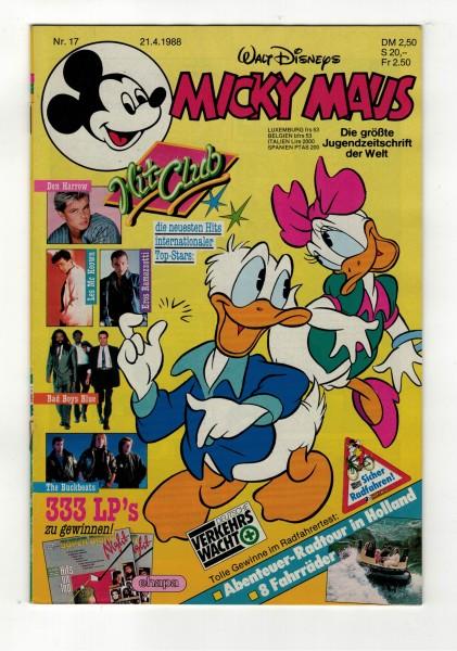 Micky Maus 1988 Nr. 17 / 21.04.1988