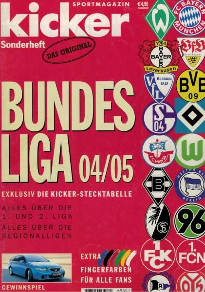 Kicker Sonderheft Bundesliga 2004/05