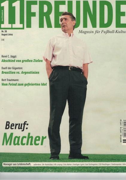 11 Freunde - Heft Nr. 036 - 08 August 2004