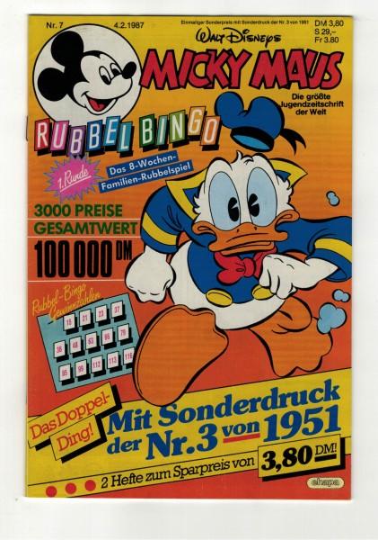 Micky Maus 1987 Nr. 07 / 04.02.1987