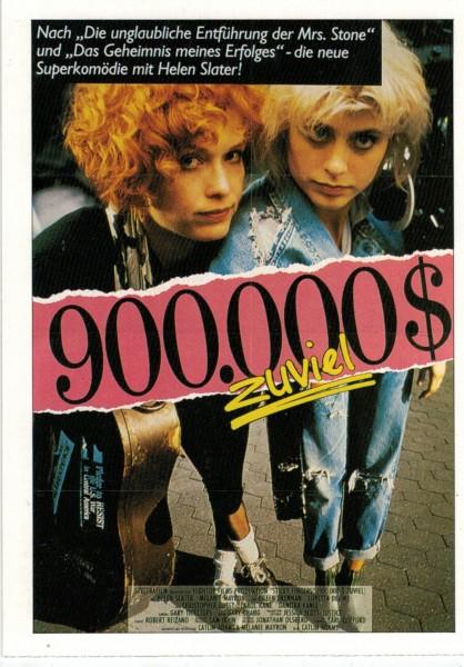 """Cinema Filmkarte """"900000 $ zuviel"""""""