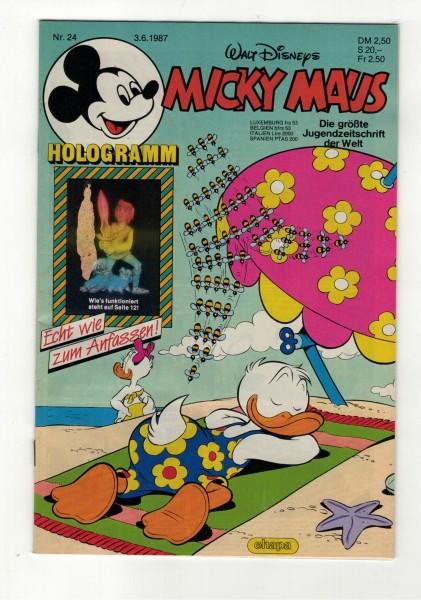 Micky Maus 1987 Nr. 24 / 03.06.1987
