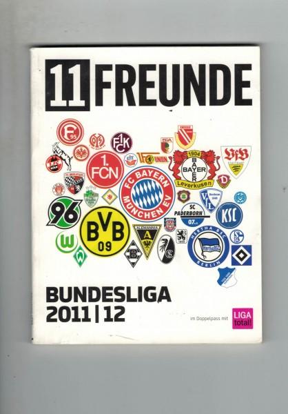 11 Freunde - Bundesliga Planer 2011/12