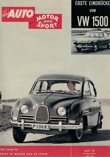 Auto Motor und Sport 1961 Heft 11-20.05.1961