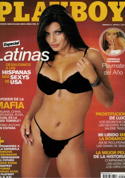 Playboy Spanien 2004-11 November