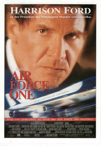 "Cinema Filmkarte ""Air Force One"""