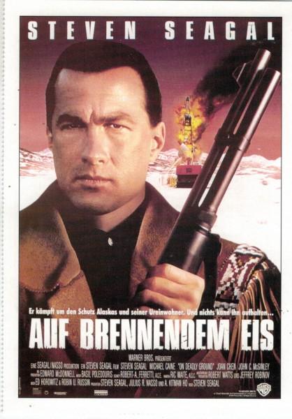 """Cinema Filmkarte """"Auf brennendem Eis"""""""