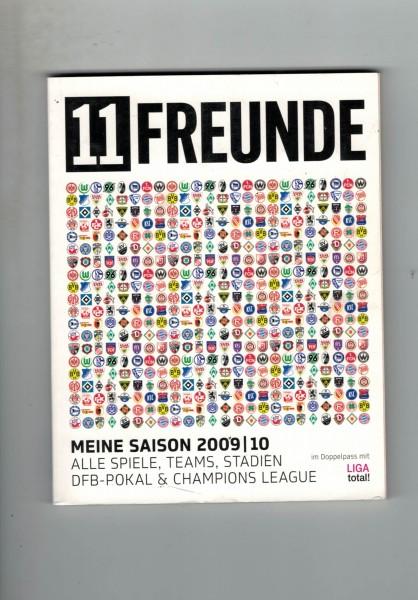 11 Freunde - Bundesliga Planer 2009/10