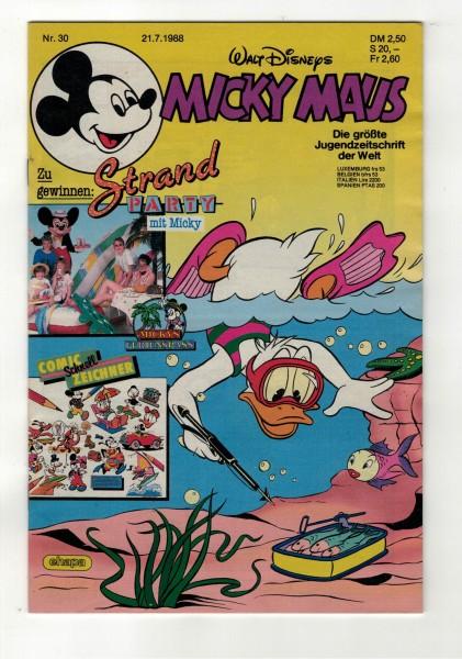 Micky Maus 1988 Nr. 30 / 21.07.1988