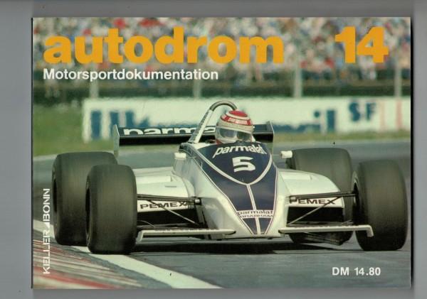 autodrom 14 - Motorsportdokumentation Ausgabe 1982