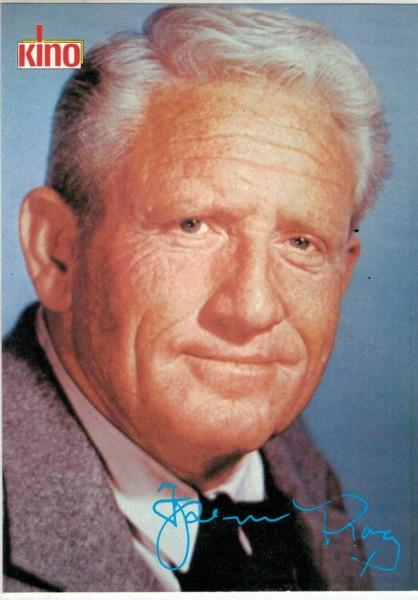 Kino-Autogrammkarte - Spencer Tracy