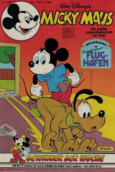 Micky Maus 1982 Nr. 47 / 23.11.1982