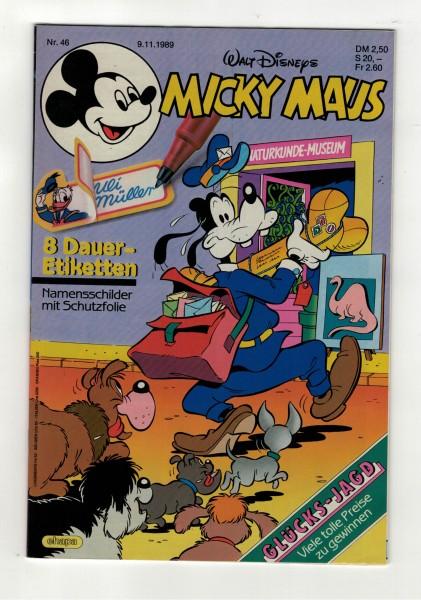 Micky Maus 1989 Nr. 46 / 09.11.1989