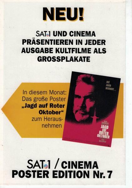 Cinema Poster Edition Nr. 07 - Jagd auf Roter Oktober