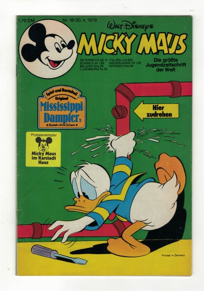 Micky Maus 1979 Nr. 18 / 30.04.1979