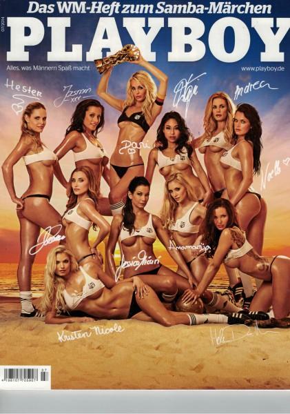 Playboy D 2014-07 Juli ABO-Cover