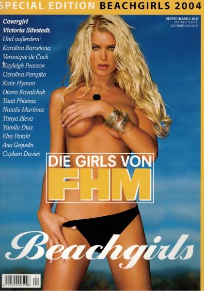 FHM - For Him Magazine - Special Edition Beachgirls 2004