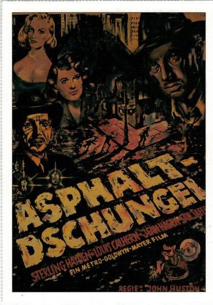 "Cinema Filmkarte ""Asphalt-Dschungel"""