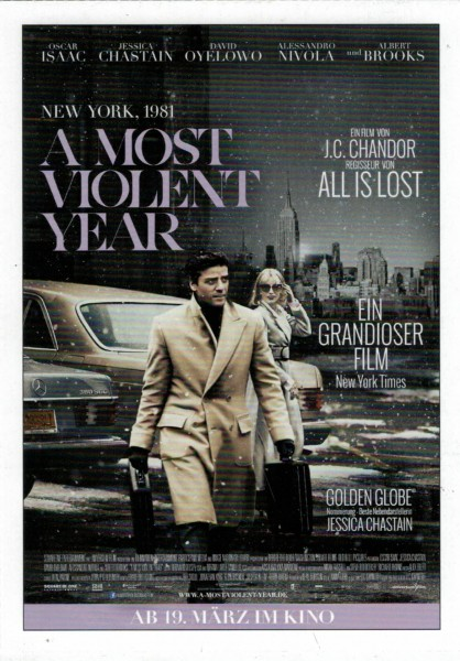 "Cinema Filmkarte ""A Most Violent Year"""