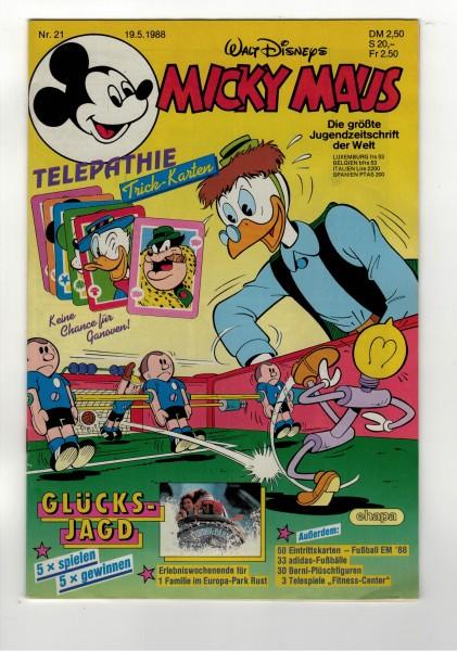 Micky Maus 1988 Nr. 21 / 19.05.1988