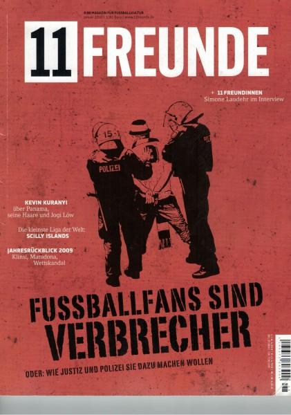 11 Freunde - Heft Nr. 098 - 01 Januar 2010
