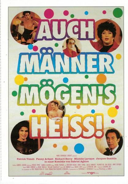 "Cinema Filmkarte ""Auch Männer mögen´s heiß"""