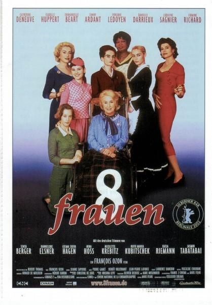 """Cinema Filmkarte """"8 Frauen"""""""