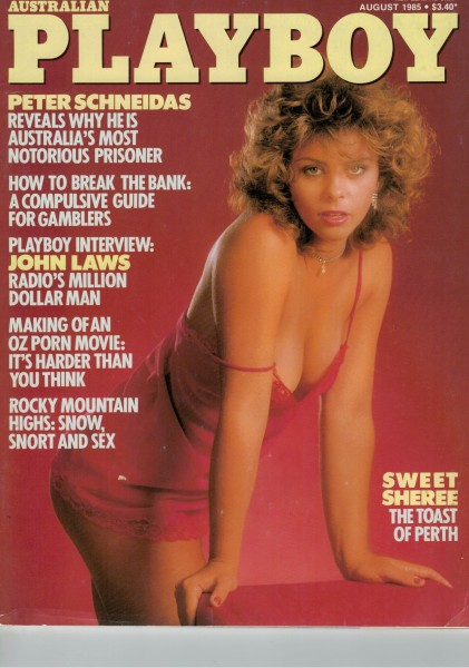 Playboy Australien 1985-08 August
