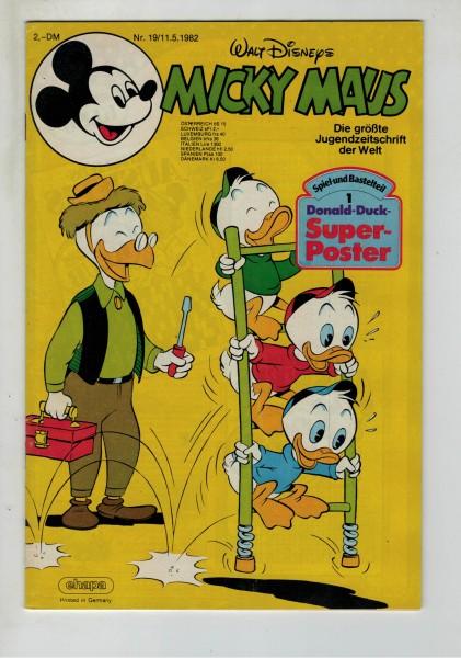 Micky Maus 1982 Nr. 19 / 11.05.1982