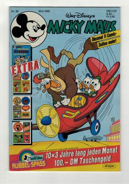 Micky Maus 1989 Nr. 36 / 30.08.1989
