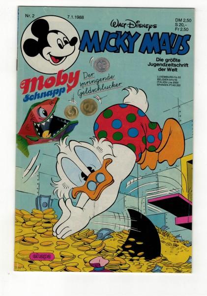 Micky Maus 1988 Nr. 02 / 07.01.1988