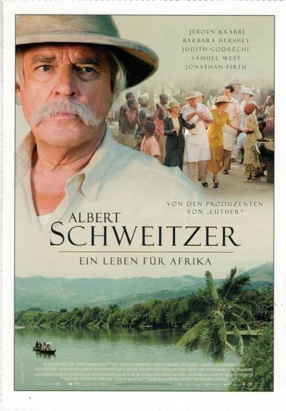 """Cinema Filmkarte """"Albert Schweitzer - Ein Leben für Afrika"""""""