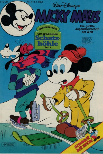 Micky Maus 1983 Nr. 02 / 11.01.1983