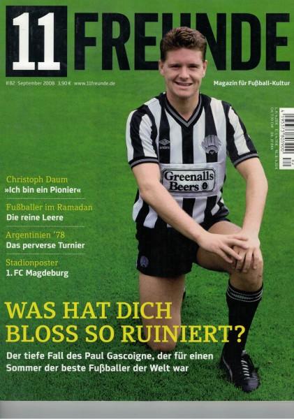 11 Freunde - Heft Nr. 082 - 09 September 2008