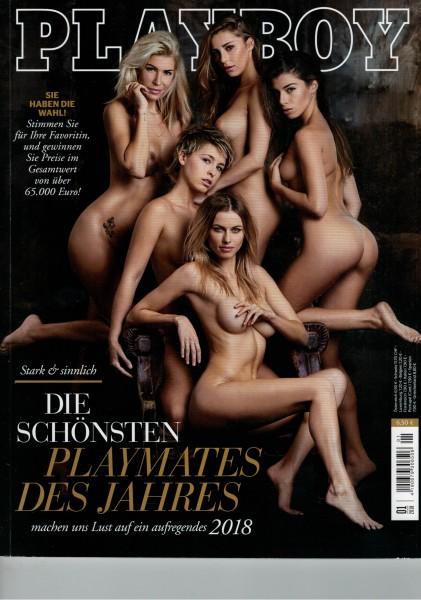Playboy D 2018-01 Januar ABO-Cover
