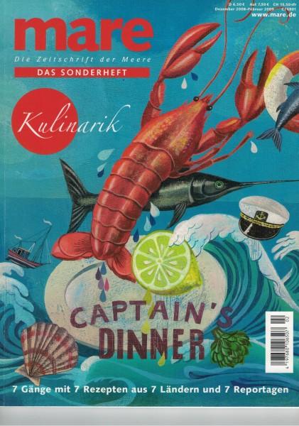 mare - Die Zeitschrift der Meere - Das Sonderheft Kulinarik 2008/2009