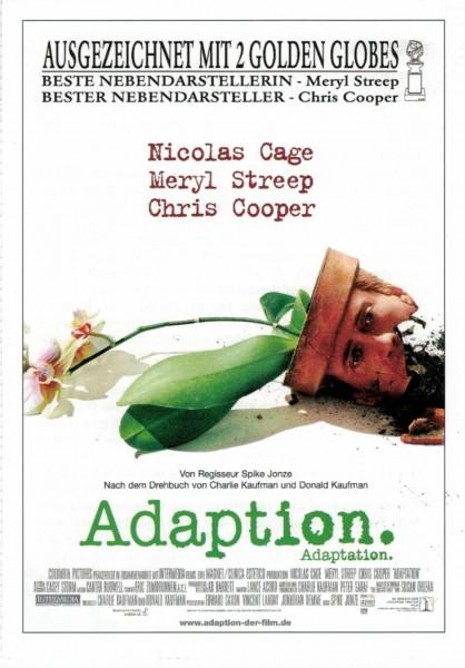 """Cinema Filmkarte """"Adaption"""""""