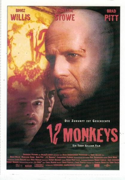 "Cinema Filmkarte ""12 Monkeys"""